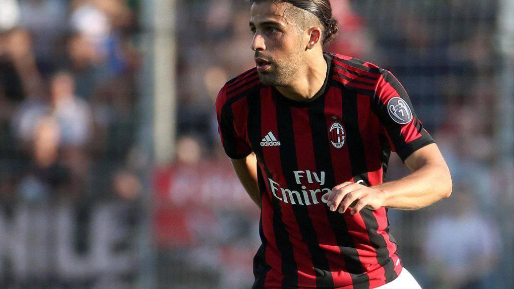 Ricardo Rodriguez überzeugte im Trikot der AC Milan erneut