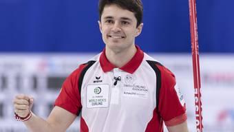 Die Genfer Nummer 4 Benoit Schwarz hat das Zwischenziel erreicht: Final
