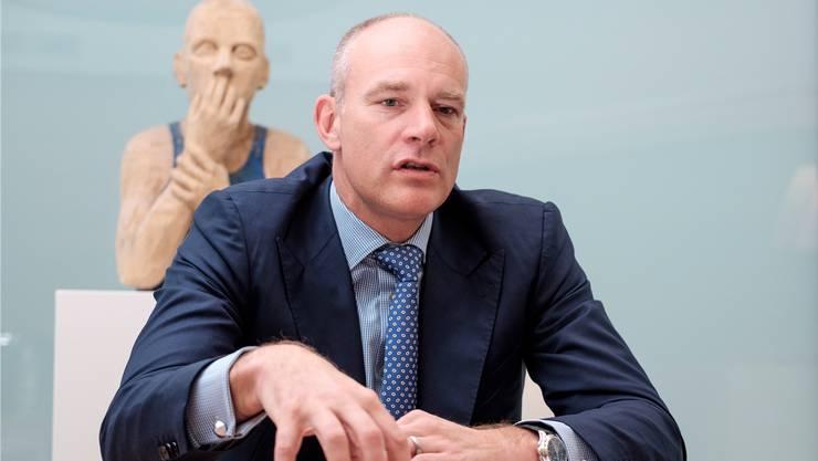 Der frühere Landwirt und CS-Spitzenbanker Barend Fruithof, 51, führt seit 2017 die Aebi-Schmidt-Industriegruppe.