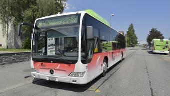 Die Buslinie 34 – hier am Bahnhof Grenchen Süd – soll ab Dezember bis nach Biel ins Bözingenfeld fahren.