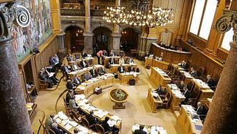 Blick in den Ständeratssaal (Archiv)
