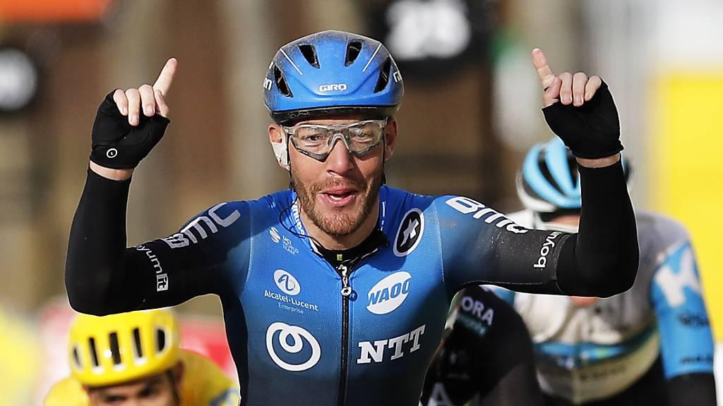 Giacomo Nizzolo gewann die 2. Etappe von Paris – Nizza.