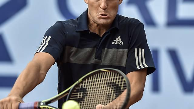 Der topgesetzte Michail Juschni scheiterte in Gstaad frühzeitig