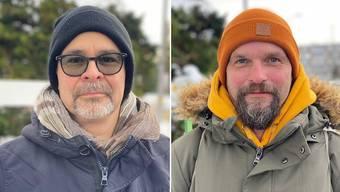 Wollen beide in den Buchser Gemeinderat: Reto Bianchi (links) und Reto Fischer.