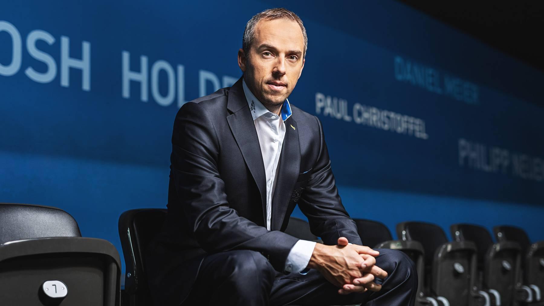 EVZ-CEO Patrick Lengwiler weiss noch nicht, wie gross der finanzielle Schaden für seinen Klub sein wird und welche Folgen diese mit sich bringen.
