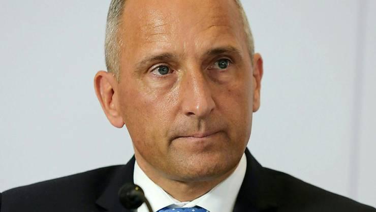 Regierungschef Adrian Hasler ist Parteikollege von Aurelia Frick.
