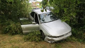 Am Auto entstand ein Schaden von etwa 3'000 Franken.