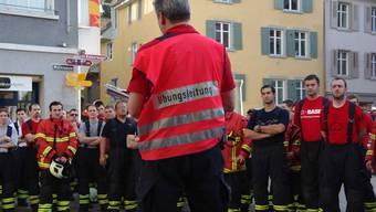 Impressionen der Rheinfeldener Feuerwehrübung