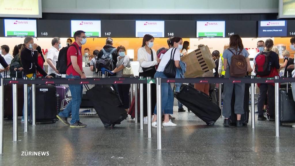 Flughafen Zürich: Sorgenfalten statt Ferienstimmung bei Passagieren