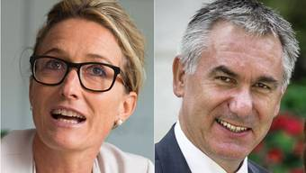 Susanne Hochuli und Alex Hürzeler.