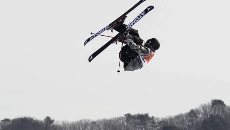 Fabian Bösch feiert auf der Seiseralm sein achtes Weltcup-Podest