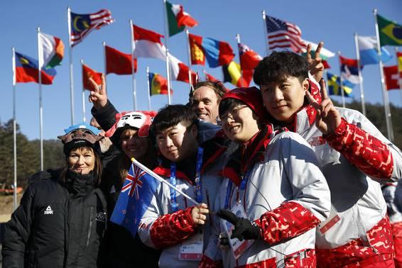 Die freiwilligen Helfer – heimliche Helden in Pyeongchang.
