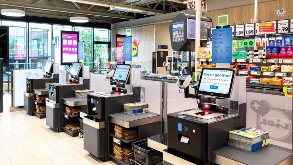 Lidl führt schweizweit Self-Checkout-Kassen ein
