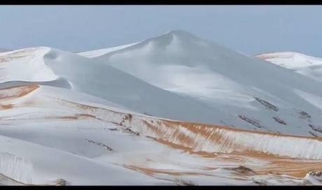 Sahara Schnee 2020