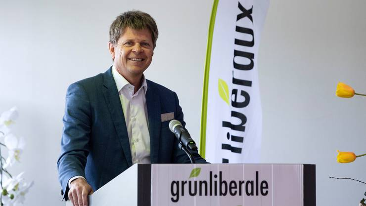 Jürg Grossen (Präsident der GLP Schweiz) überbrachte der jungen Ortspartei seine Glückwünsche. (Themenbild)