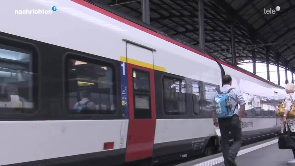 Erste Züge nach Italien