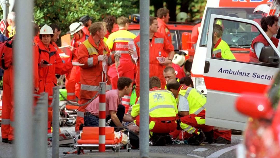 Der Landschreiber von Zug, Tino Jorio erzählt, wie er das Attentat vor 10 Jahren erlebte