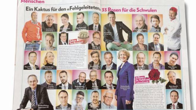 Die umstrittene Veröffentlichung in der «Schweizer Illustrierten»