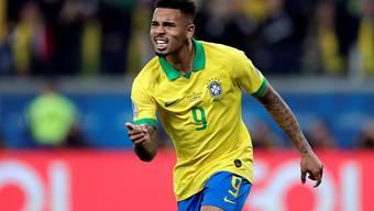 Gabriel Jesus verwertete den entscheidenden Penalty und führte Brasilien erstmals seit 2007 wieder in die Halbfinals der Copa America