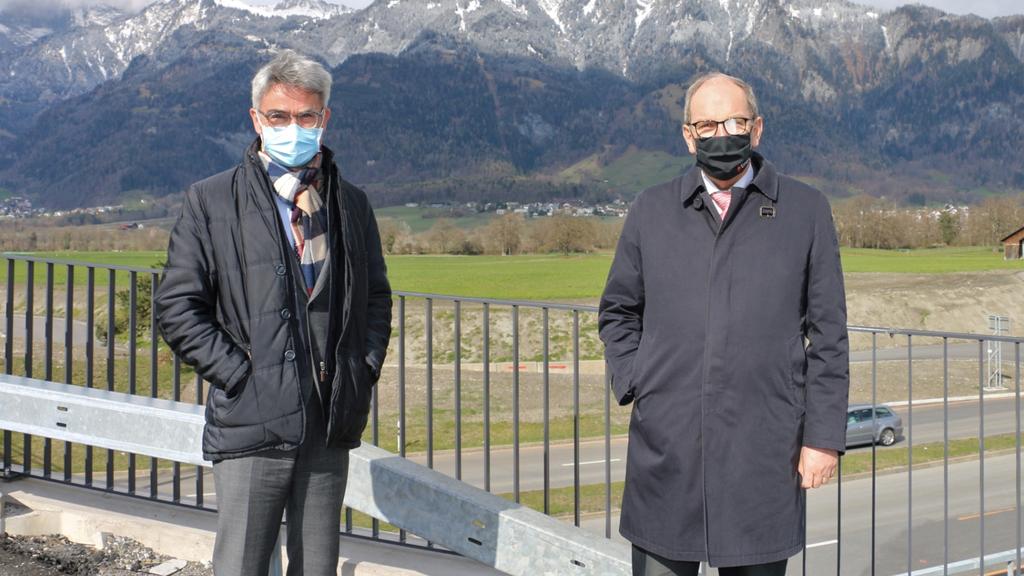 St.Galler Regierung zu Besuch in Graubünden