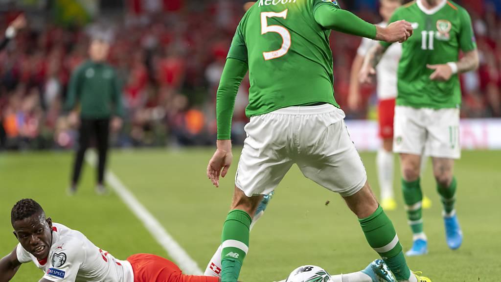 Irlands Keogh fällt nach Autounfall gegen die Schweiz aus