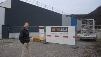 Christian Villiger, Projektinitiant und -leiter bei der GoEasy Freizeit & Event AG, freut sich auf den baldigen Baubeginn.