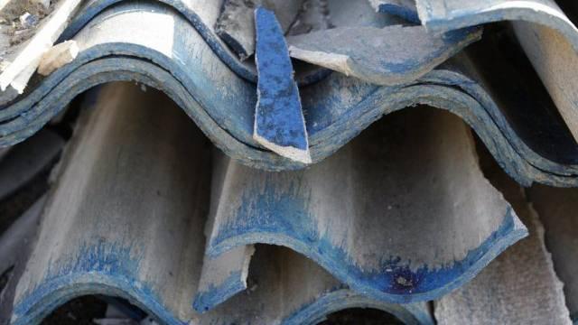 Asbesthaltige Eternitplatten (Archivbild)