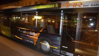Der Nachtbus «Staarliner»