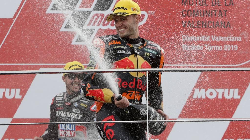 Seinen letzten Sieg feierte Brad Binder im letzten November (vor Tom Lüthi) in Valencia in der Moto2, nun triumphierte der Südafrikaner bereits in der höchsten Klasse