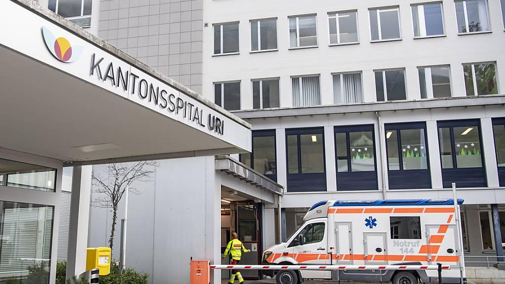 Nur ungeimpfte Corona-Patienten im Kantonsspital Uri
