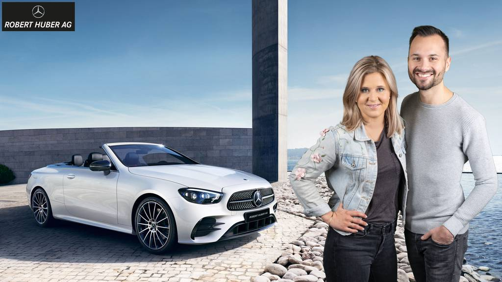 Gewinne ein Mercedes-Cabrio für den ganzen Sommer