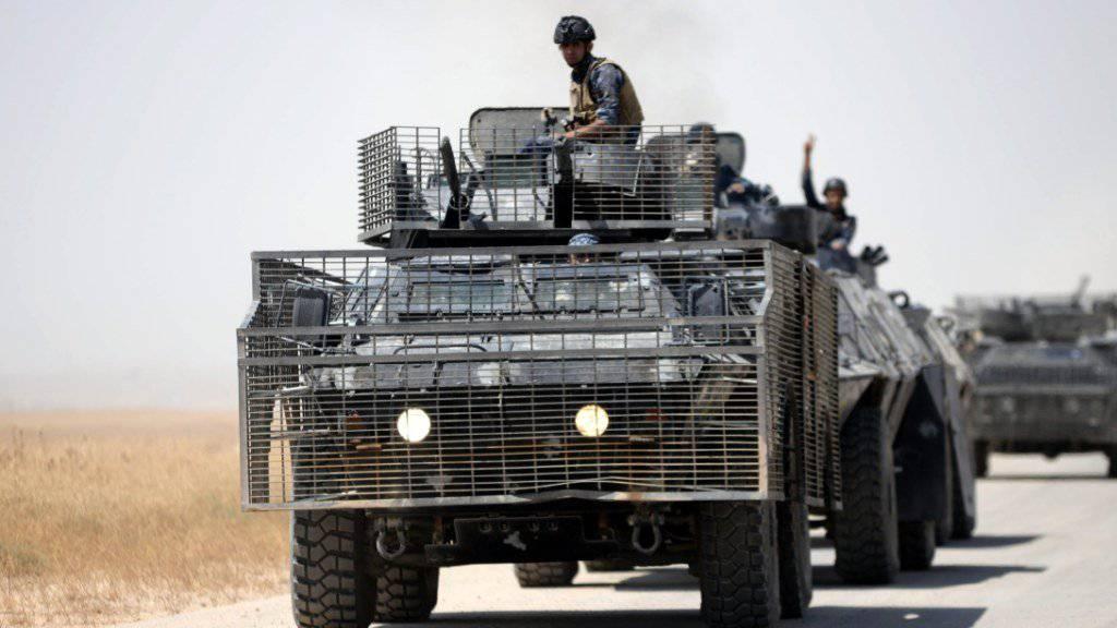 Irakische Armee erobert Gebiet zurück