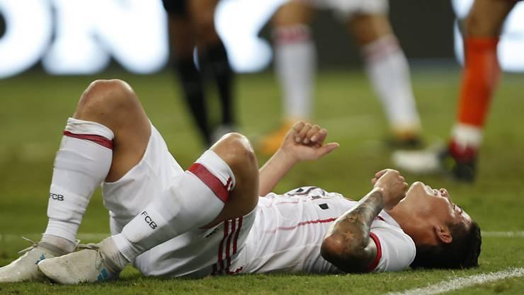 James Rodriguez hat sich in einem Freundschaftsspiel verletzt