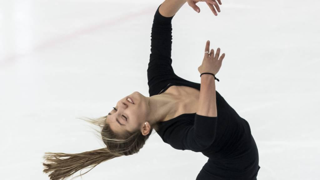 Alexia Paganini ist gut in die Nebelhorn Trophy gestartet