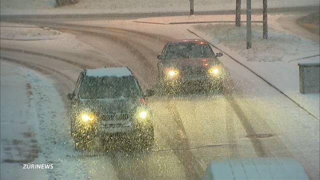 50 Unfälle wegen Schnee