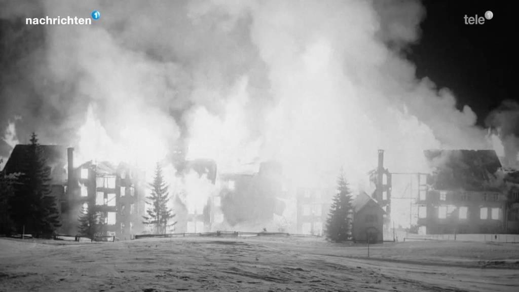 Vor 60 Jahren brannte das Hotel Rigi-Kaltbad nieder