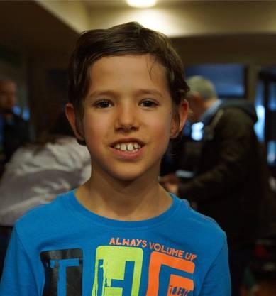 Matteo Spohn (7): «Es war ein supergutes Konzert, mit guter Stimmung.»
