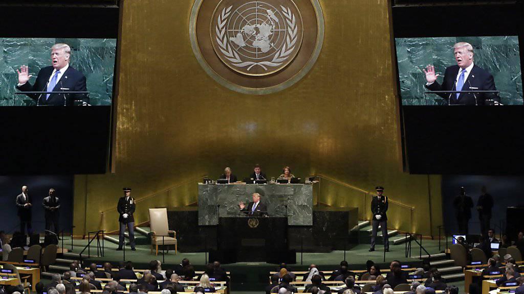 Nach Scheitern der UNO-Resolution über Jerusalem-Frage im UNO-Sicherheitsrat soll die UNO-Generalversammlung am Donnerstag über das Schriftstück entscheiden. (Archivbild)
