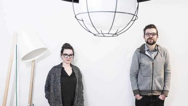 Sarah Hügin und Benedikt Löwenstein sind «Mizko Design».