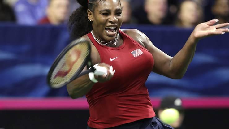 Serena Williams kann es kaum erwarten, endlich wieder Tennisturniere zu spielen