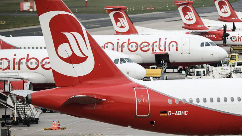 Das Insolvenzverfahren über die Pleite-Airline Air Berlin ist eröffnet. Jetzt können die Gläubiger ihre Forderungen geltend machen. (Archiv)