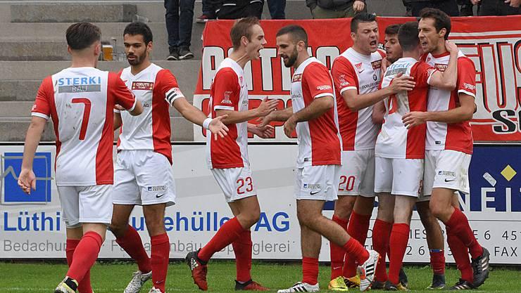 Die Solothurner zeigten im Spiel gegen die Old Boys Basel eine starke Leistung.