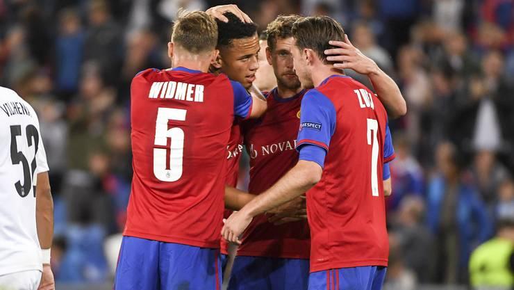 Am ersten Spieltag der EL-Gruppenphase überzeugt der FC Basel von Anfang an. Gegen den FK Krasnodar gewinnen die Basler gleich mit 5:0.