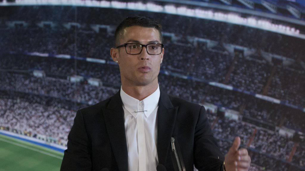 Cristiano Ronaldo will bis 41 weiterspielen
