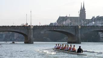Am Samstag wird auf dem Rhein wieder gerudert.