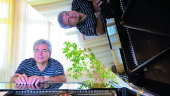 Zur Person: Rainer Walker ist seit vier Jahren Schulleiter der Oberaargauischen Musikschule Langenthal. Der 54-jährige Aarwanger spielt Klavier und Orgel. Er ist Vorstandsmitglied der Swiss Jazz School in Bern und in seiner Freizeit komponiert er. (JPW)