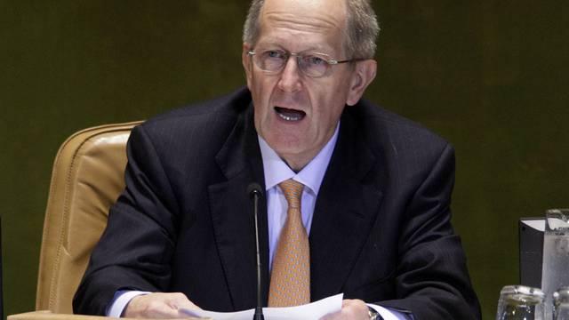 Präsident der UNO-Generalversammlung, Joseph Deiss