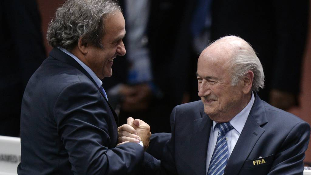 Die Karriere von Michel Platini endet in Lausanne