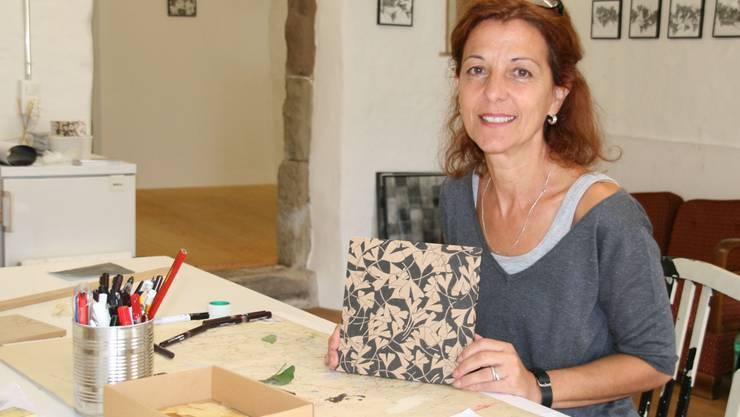 Dora Freiermuth wurde in ihrer Galerie in der Altstadt bestohlen.