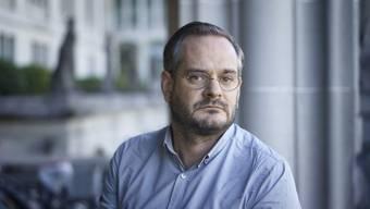 """Jonas Lüscher hat für seinen Roman """"Kraft"""" den Schweizer Buchpreis 2017 erhalten."""
